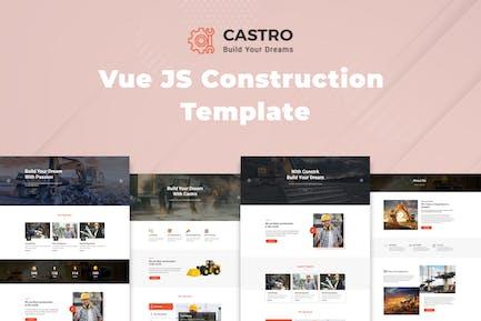 Castro – Vue JS Construction Template