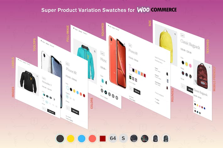 Thumbnail for Super Product Variation Swatches for WooCommerce