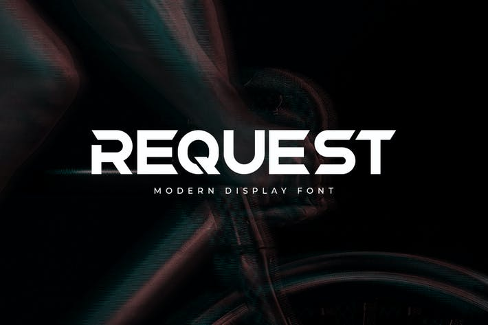 REQUEST - DISPLAY FONT