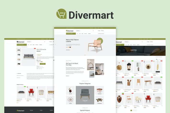 Thumbnail for Divermark - Furniture Store and Handmade Shop