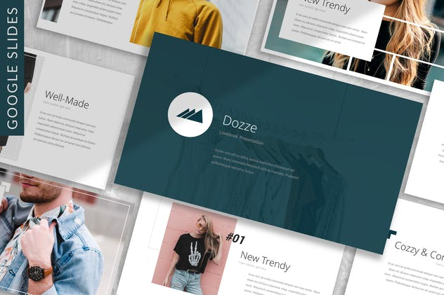 Dozze - Fashion Google Slides Template