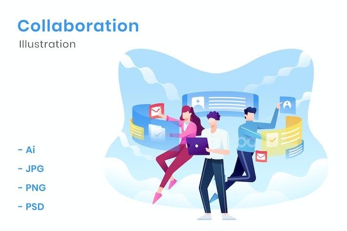 Thumbnail for Collaboration Illustration
