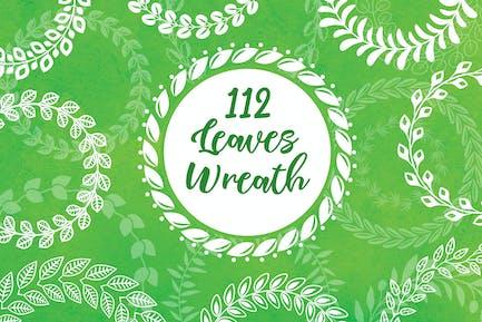 112 Leaves Wreaths