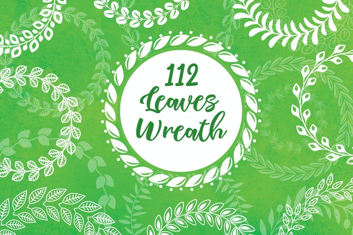 Thumbnail for 112 Leaves Wreaths