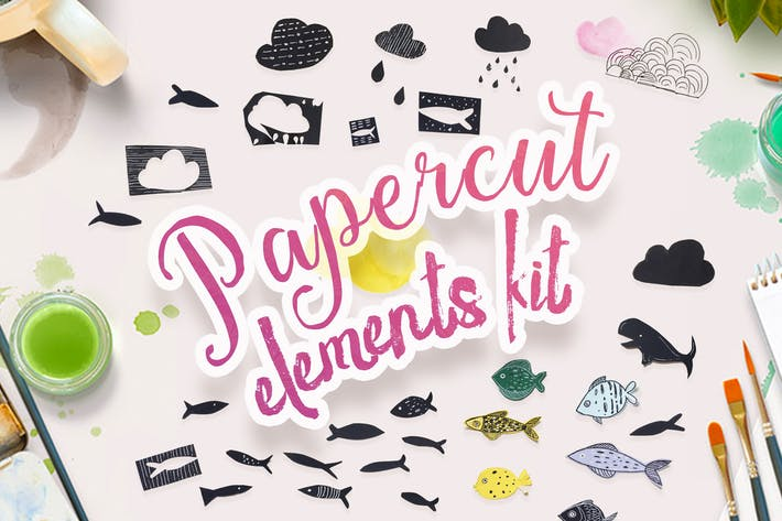 Thumbnail for Papercut Elements Kit