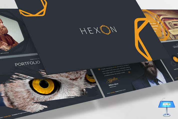 Thumbnail for Hexon Keynote Template