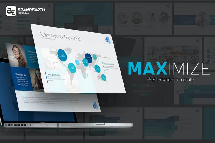 Cover Image For MAXIMIZE Presentation Template