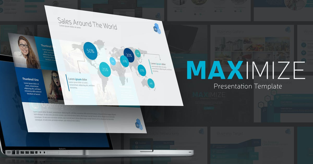 Download MAXIMIZE Presentation Template by Unknow