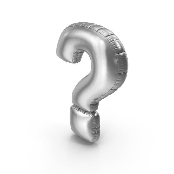 Foil Balloon Question Mark