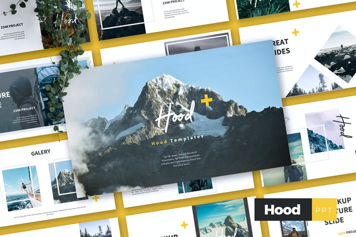 Thumbnail for HOOD - Adventure Powerpoint Template