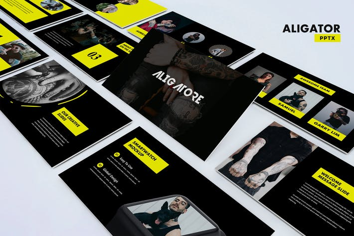 Thumbnail for Aligator - Powerpoint Template