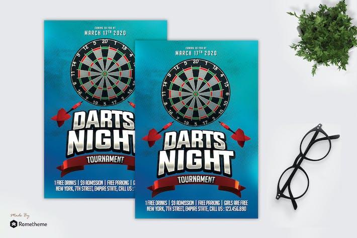 Thumbnail for Darts Night Tournament - Flyer MR