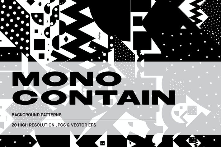 Thumbnail for Mono Contain - Background Patterns