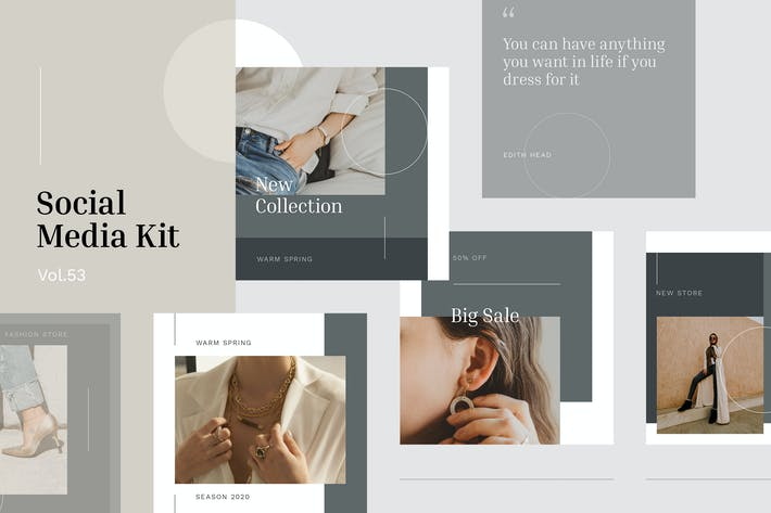 Thumbnail for Social Media Kit (Vol.53)
