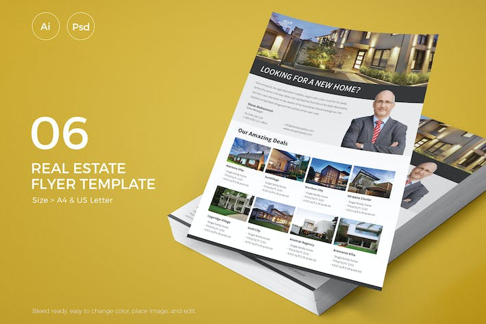 Thumbnail for Slidewerk - Real Estate Flyer 06