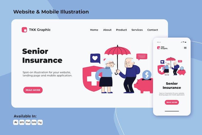 Thumbnail for Assurance personnes âgées/personnes âgées web et mobile