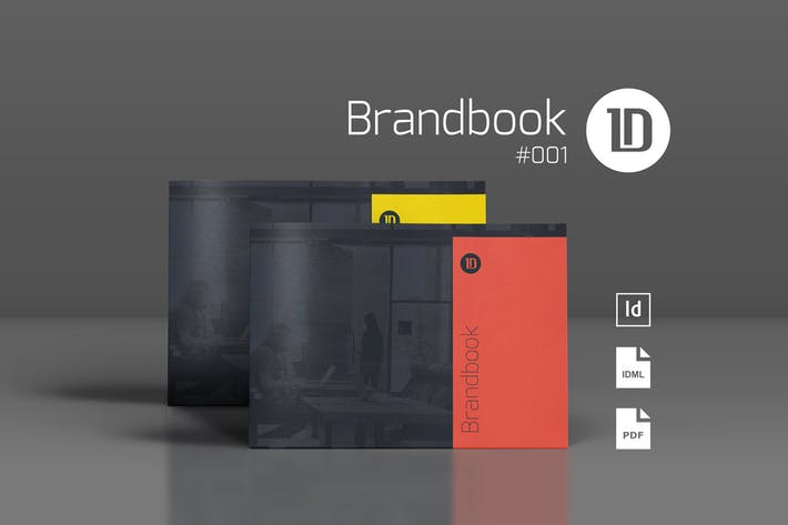 Thumbnail for Brandbook Template 001