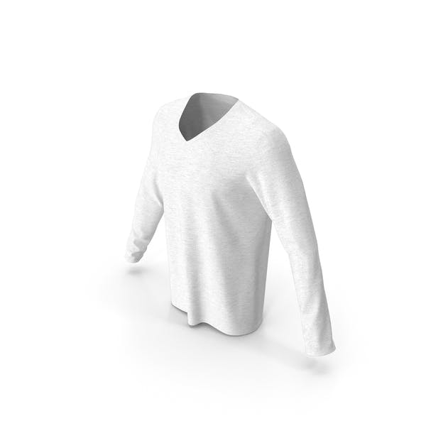 Men V Neck Sweatshirt