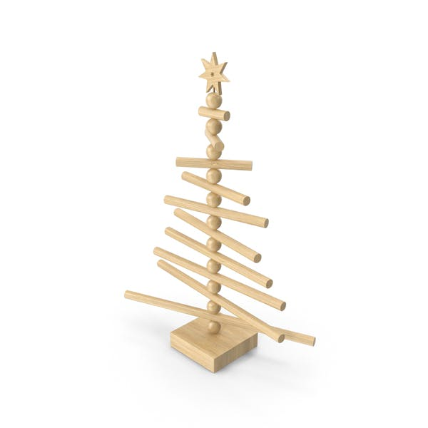 Cover Image for Wooden Christmas Tree