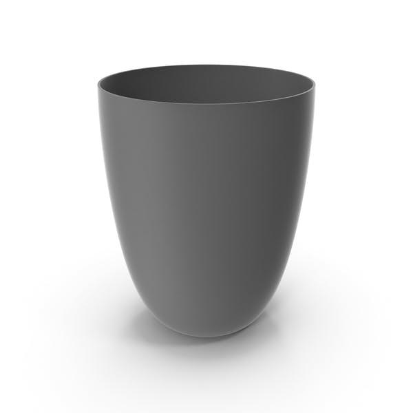 Plastic Cup Grey