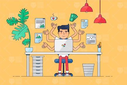 Espacio de trabajo de Trabajo profesional