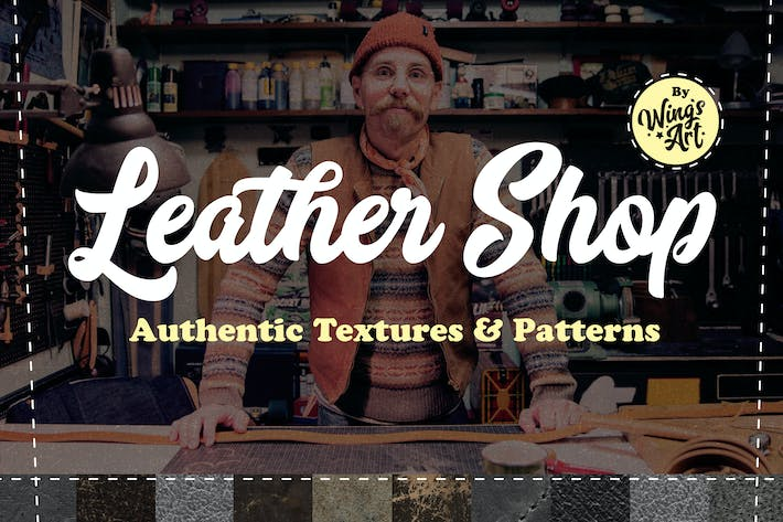 Thumbnail for Leather Textures and Patterns