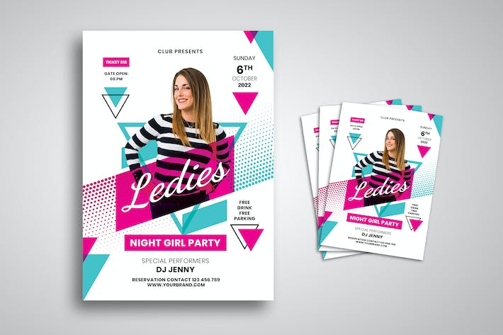 Thumbnail for DJ Party Flyer