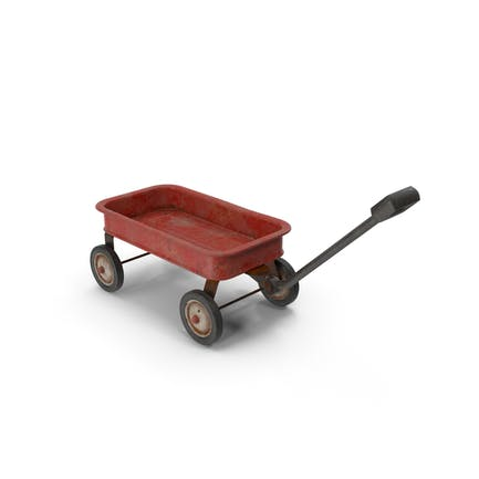 Carro de juguete oxidado