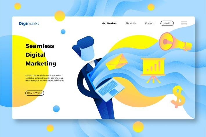 Cover Image For Marketing - Banner & Landing Page