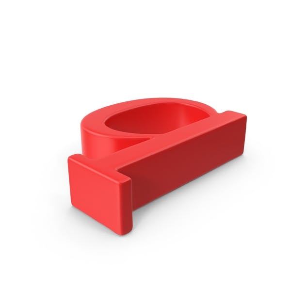 Red Small Letter Q