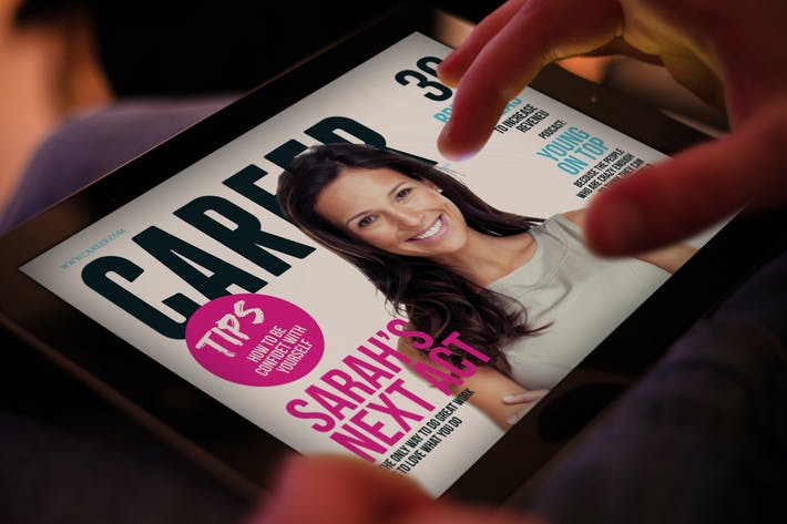 Thumbnail for Ipad Magazine Template