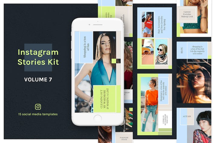 Thumbnail for Instagram Stories Kit (Vol.7)