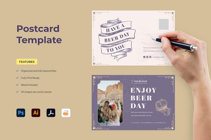 Thumbnail for Carte postale rétro