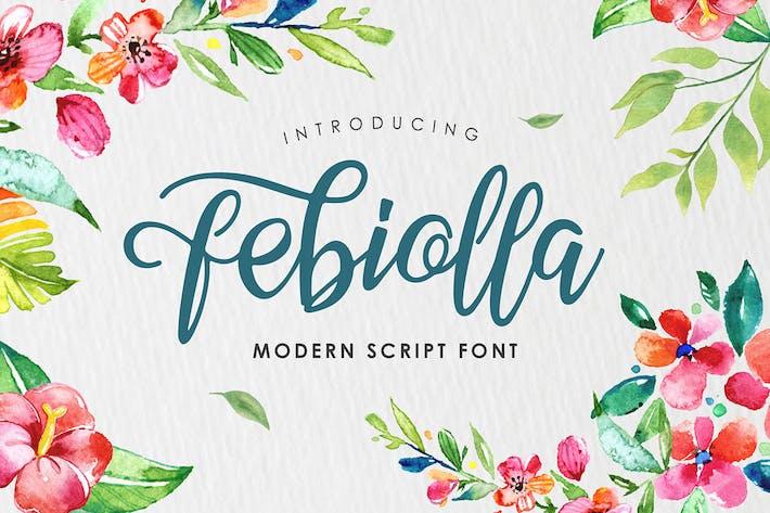 Thumbnail for Febiolla Script