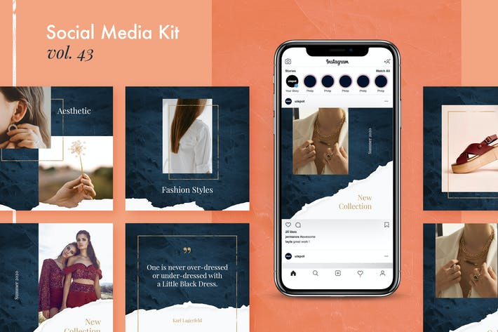 Thumbnail for Social Media Kit (Vol.43)