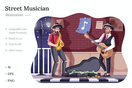 Musician Illustration