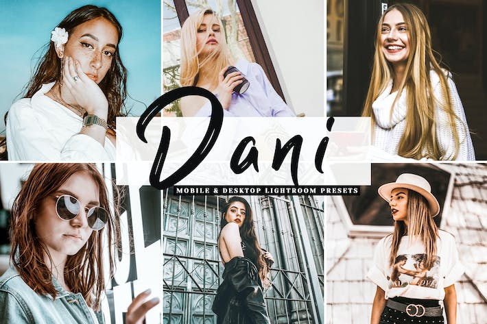 Thumbnail for Dani Mobile & Desktop Lightroom Presets