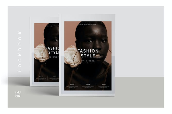 Thumbnail for Style Fashion Broschüre Minimal Company Agentur