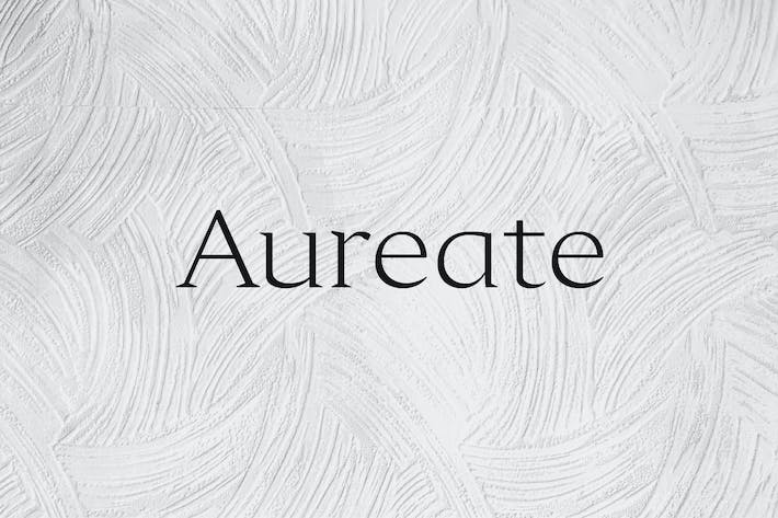 Thumbnail for Aureate - A Sophisticated Serif