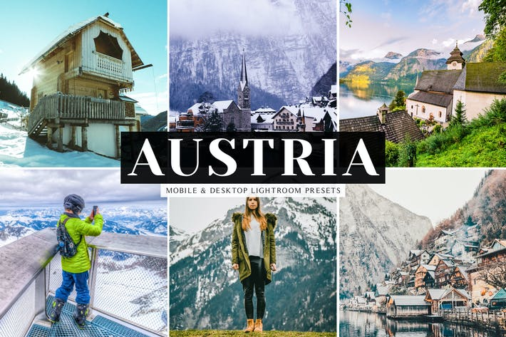 Thumbnail for Austria Mobile & Desktop Lightroom Presets