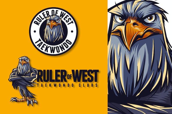 Thumbnail for Eagle Mascot Logo