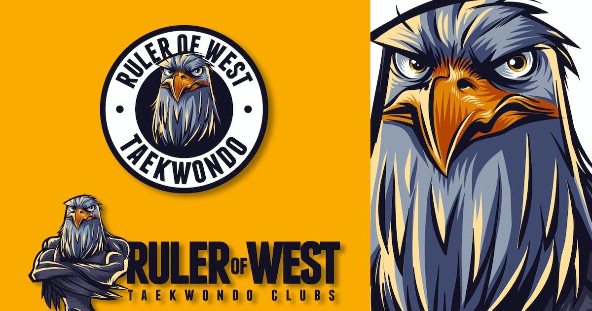 Download Eagle Mascot Logo by Suhandi