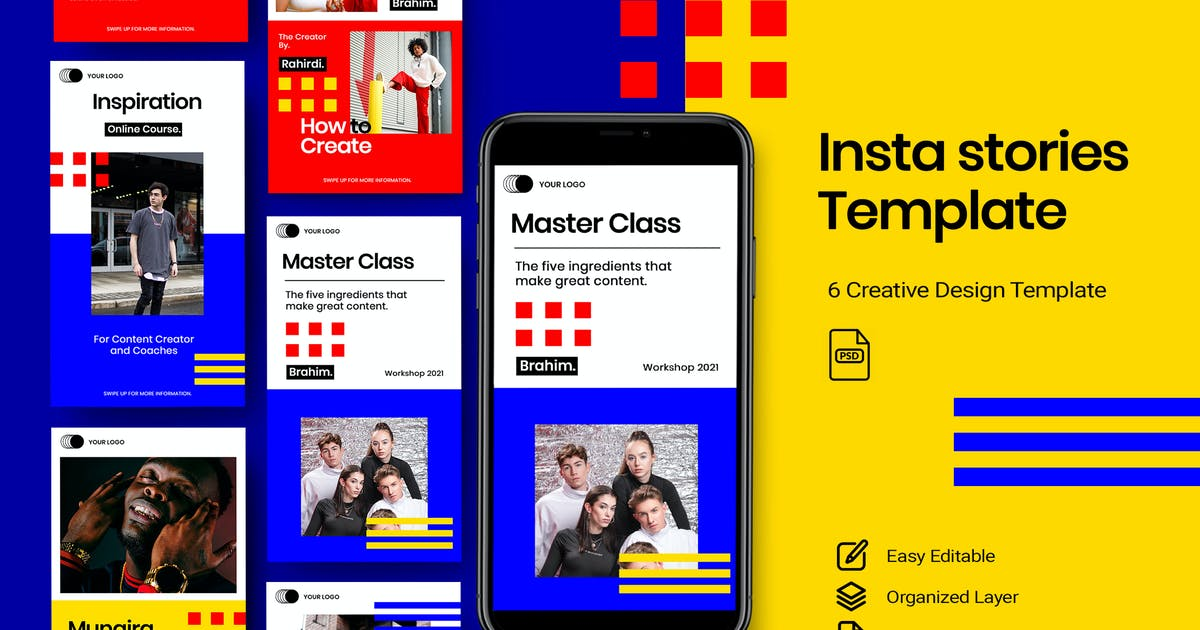 Content - Stories Instagram Vol.3 by DensCreativeStudio