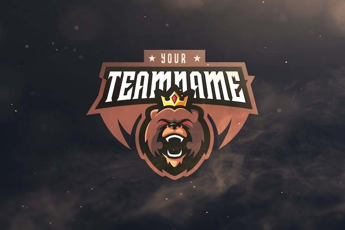 Thumbnail for King Bear Sport and Esports Logos