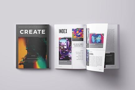 Create Magazine Template