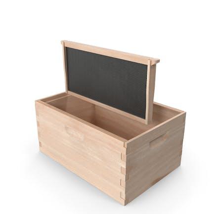 Bienenstock-Box mit Rahmen