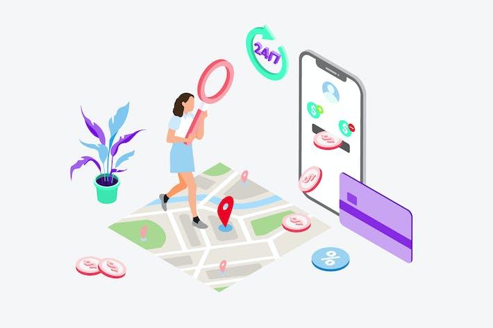 Thumbnail for Transaktionsplätze nach digitaler Wallet suchen