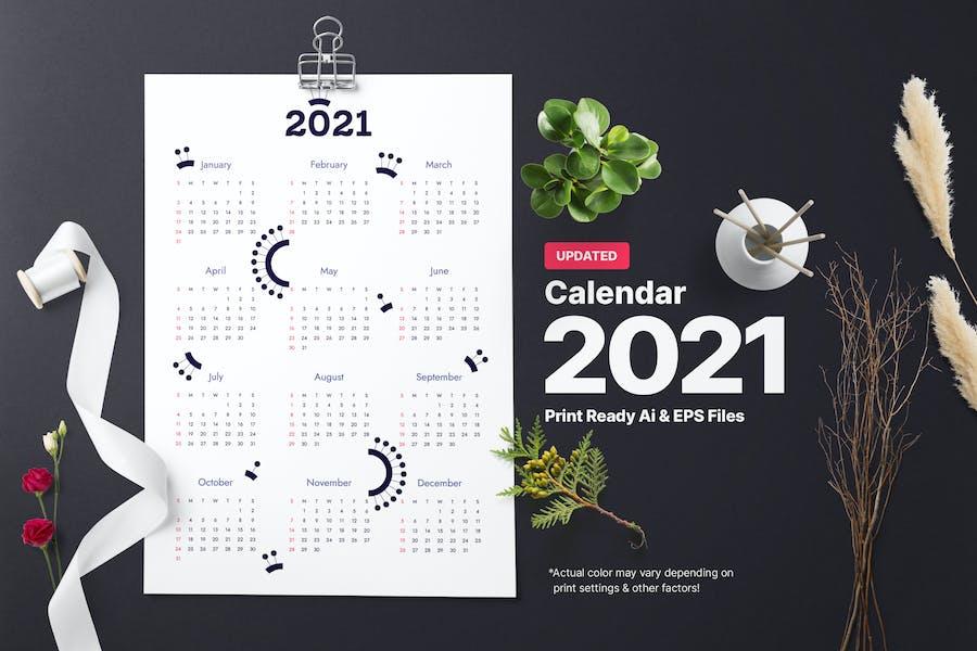 Calender Circlet 2021