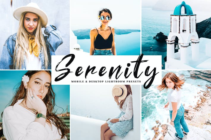 Thumbnail for Serenity Mobile & Desktop Lightroom Presets