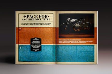 Classy Magazine Indesign Template